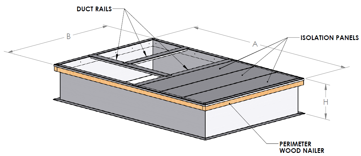 Advanced Air Technology Systems Inc Welded Roof Curb